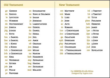 OSNOVA King James Version Bible