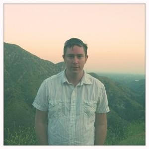 My husband John on the mountain.