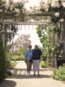 My mom & I at the Huntington Library & Gardens