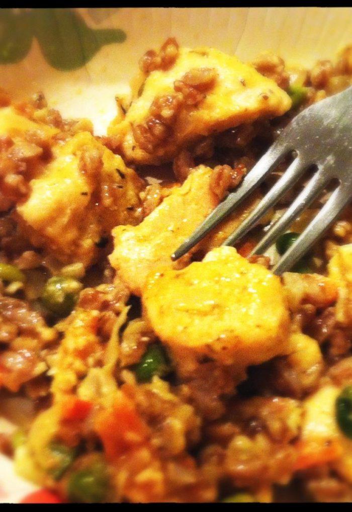 Easy Chicken Risotto with Farro